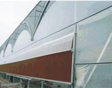连栋拱型薄膜温室