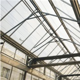Open roof greenhouse